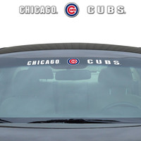 "Chicago Cubs 35""x4"" Windshield Decal"