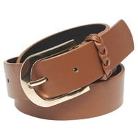 Braided Faux Leather Jean Belt | Wet Seal