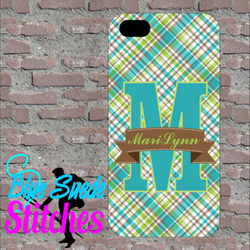 Butterfly Custom Monogram Phone case! iPhone 4, 5, 6 and 6+