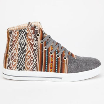 Inkkas High Top Womens Shoes London Sky  In Sizes
