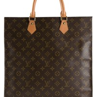 Louis Vuitton Vintage monogram flat sac bag