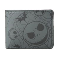 The Nightmare Before Christmas Jack & Bats Bi-Fold Wallet