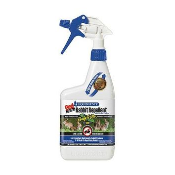Liquid Fence® HG-70212 Dual Action Rabbit Repellent, Ready-To-Use, 1 Qt