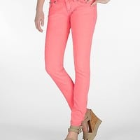 Miss Me English Cross Neon Skinny Stretch Jean