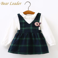 Bear Leader Baby Girls Dress 2017 Brand