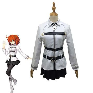 Anime Fate Grand Order FGO Gudako Cosplay Costume Chaldea Magical Suit Women's Dresses Halloween Carnival Uniforms Custom Made