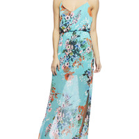 Bright Floral Maxi Tank Dress | Wet Seal