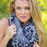 Permission to Love Leopard Infinity Scarves
