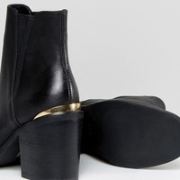 ASOS ECHO Heeled Chelsea Boots at asos.com