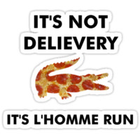 L'Homme Run Pizza Party