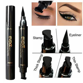 Waterproof Cat Eye Winged Eyeliner Seal Stamp