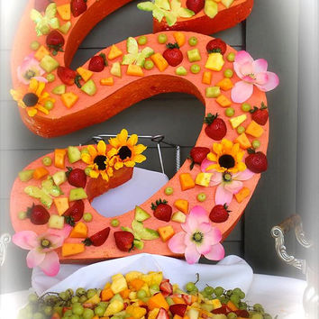 Wedding Monogram letter -36 inches tall painted or unpainted