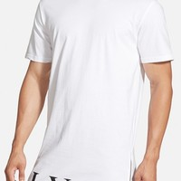 Men's Civil Regime Longline T-Shirt with Zip Detail,