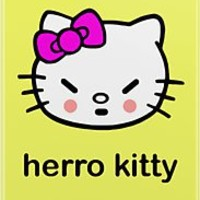 Herro Kitty! iPhone Case