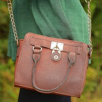 Marry Me Purse: Cognac