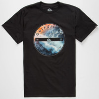 Quiksilver Being There Mens T-Shirt Black  In Sizes