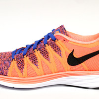 Nike Women's Flyknit Lunar 2 Mango Orange/White Running Shoes 620658 800
