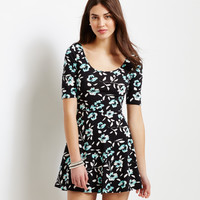 Aeropostale  Floral Fit & Flare Dress