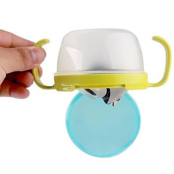 Kitchen Accessories Baby Feeding Double Handle Biscuits Snack Bowl Spill Proof Cup Bowls Accesories
