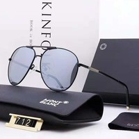 Montblanc 2018 new trend outdoor driver driving men and women polarized sunglasses #3