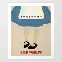 Alice In Wonderland Art Print by Magicblood
