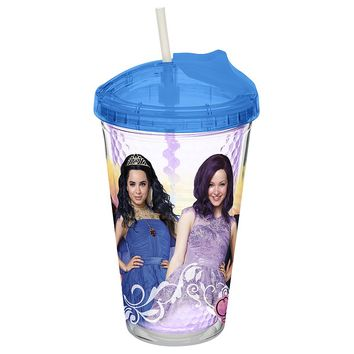 Zak Designs Disney Descendants 16-oz. Insulated Tumbler (Purple)
