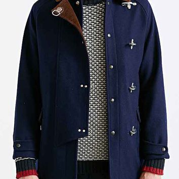 Monitaly Fireman Coat- Navy