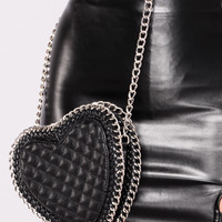 Sweetheart Crossbody - Black