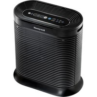 Honeywell - Bluetooth-Enabled Console Air Purifier - Black