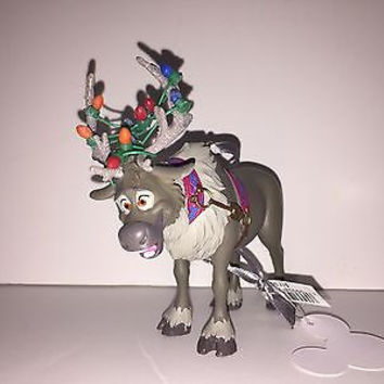 disney parks frozen sven glitter holiday lights ornament new with tag