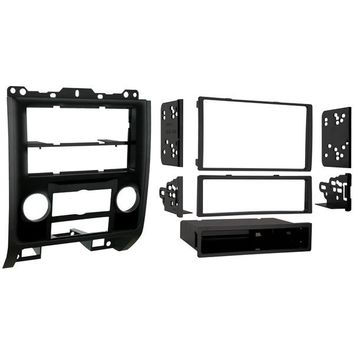 Metra(R) 99-5814HG Mounting Kit for Ford(R)-Mazda(R)-Mercury(R) 2008-2012 Single-DIN-Double-DIN, High Gloss