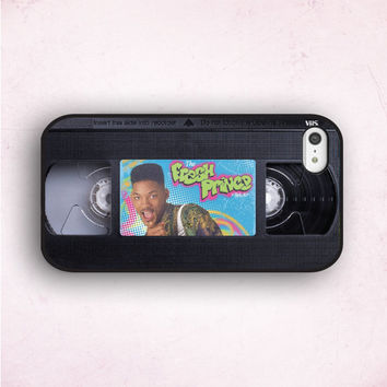 Hipster iPhone Case, The Fresh Prince, Cassette iPhone, iPhone 5 Case