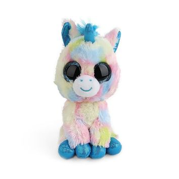 "Ty Vaias Pyoopeo Cap 6 ""15cm Scares Black Cat unicorn Plush Stuffed Animal Collectible Doll Doll Large Eyes Dolls Puppy Toys"