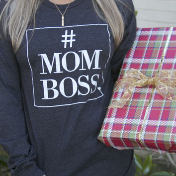#MOMBOSS long sleeve