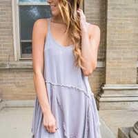 Inside-Out Tank Dress