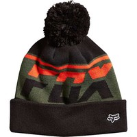Fox Racing Freakout Pom Beanie Hat For Men in Black 14747-001