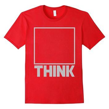 Think Outside of the Box Business Motivation Casual Shirt