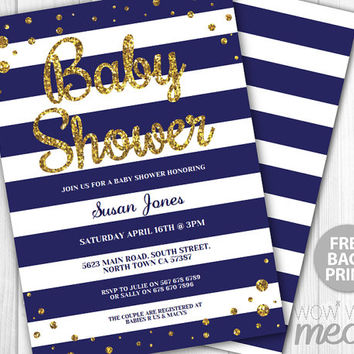 It39s a Girl Baby Shower Invitation from wowwowmeow on