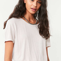 Truly Madly Deeply Cropped Boy Tee - Urban Outfitters