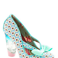 Irregular Choice Statement Unique in New York Heel in Blue