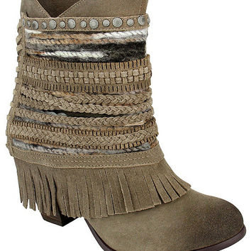 Naughty Monkey Poncho Booties | Dillards