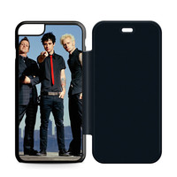 Green Day Band Leather Wallet Flip Case iPhone 6 Plus | 6S Plus