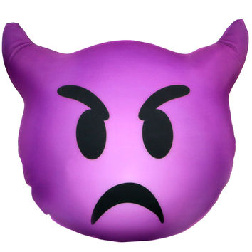 DEVIL EMOJI PILLOW