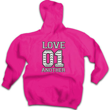 Cherished Girl Love 01 Another Chevron Girlie Christian Pullover Shirt Bright Hoodie