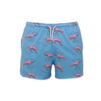 Bermies Trunks Pink Lobster