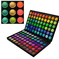 120 Full Colors New Women Professional Makeup Eye Shadow Eye shadow Palette  D_L = 1712759620