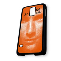 Ad sheeran in orange design Samsung Galaxy S5 Case