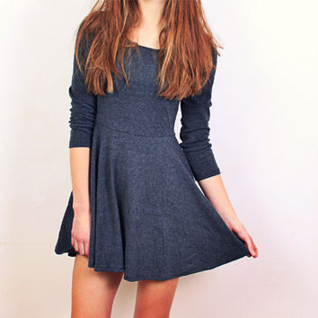 Charcoal Desire Dress