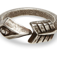 Fortuned Culture Silver Arrow Ring Silver