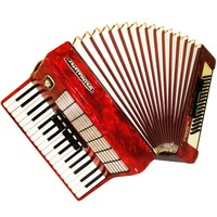 Weltmeister Stella, 80 Bass, 8 Registers, German Piano Accordion Instrument (642)